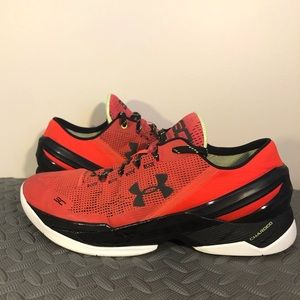 """Men's Under Armour Curry 2 Low """"Energy"""""""